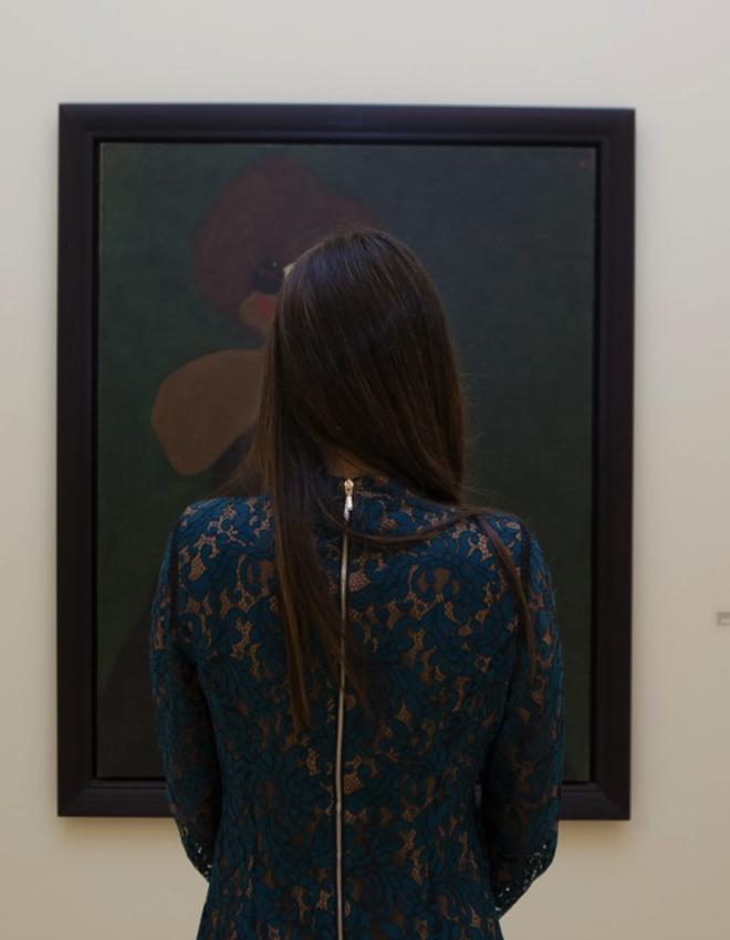 "Convite da revista Sábado para a rubrica ""Mirar um Miró"""